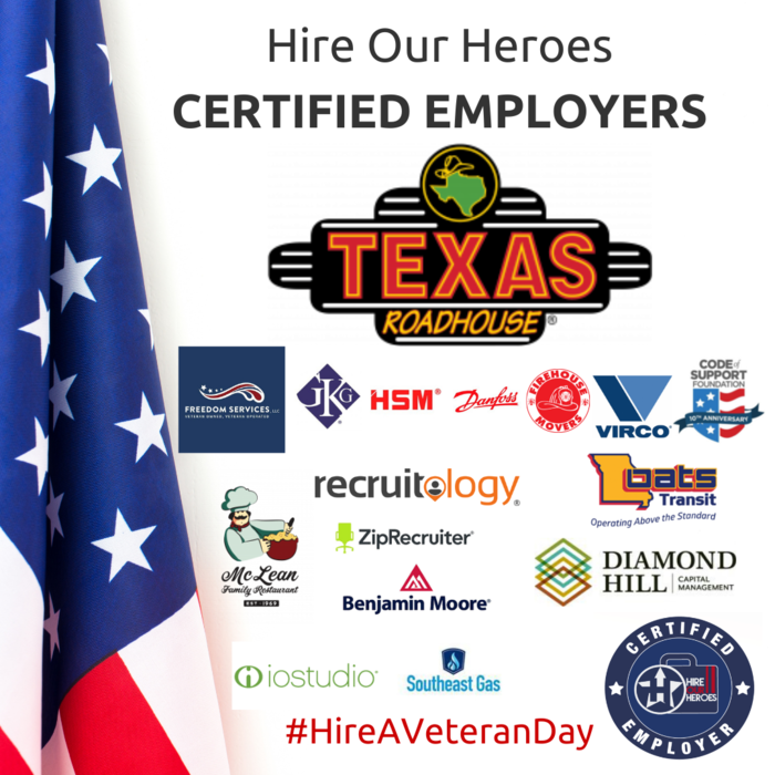 Hire Our Heroes Certified Employers