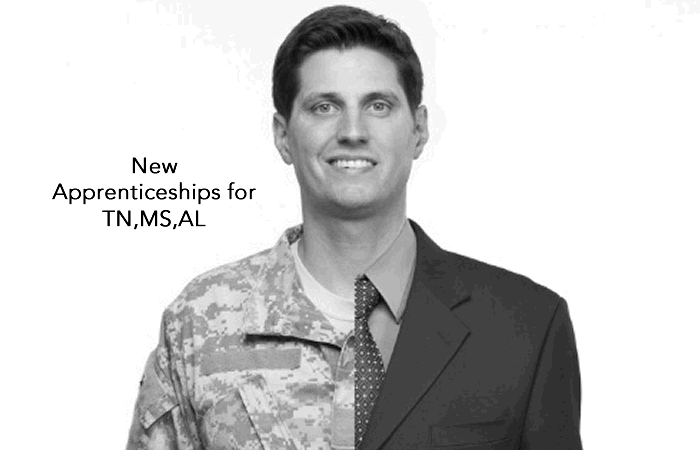 Apprenticeship Program in Mississippi, Tennessee and Alabama to Help Transitioning Military Vets